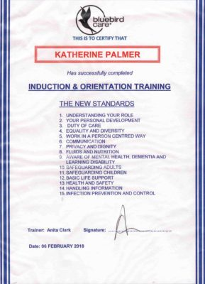 Induction & orientation training